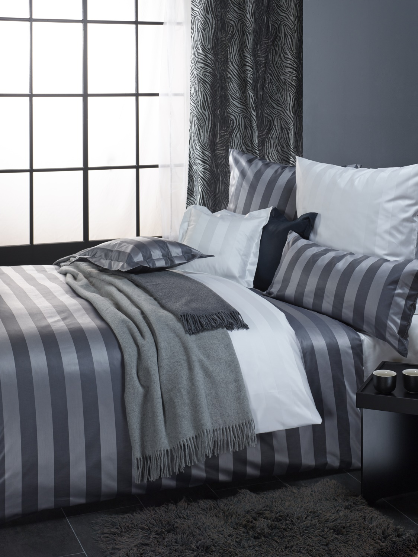 curt bauer mako brokat damast bettw sche set 2 teilig como stahlgrau romodo. Black Bedroom Furniture Sets. Home Design Ideas