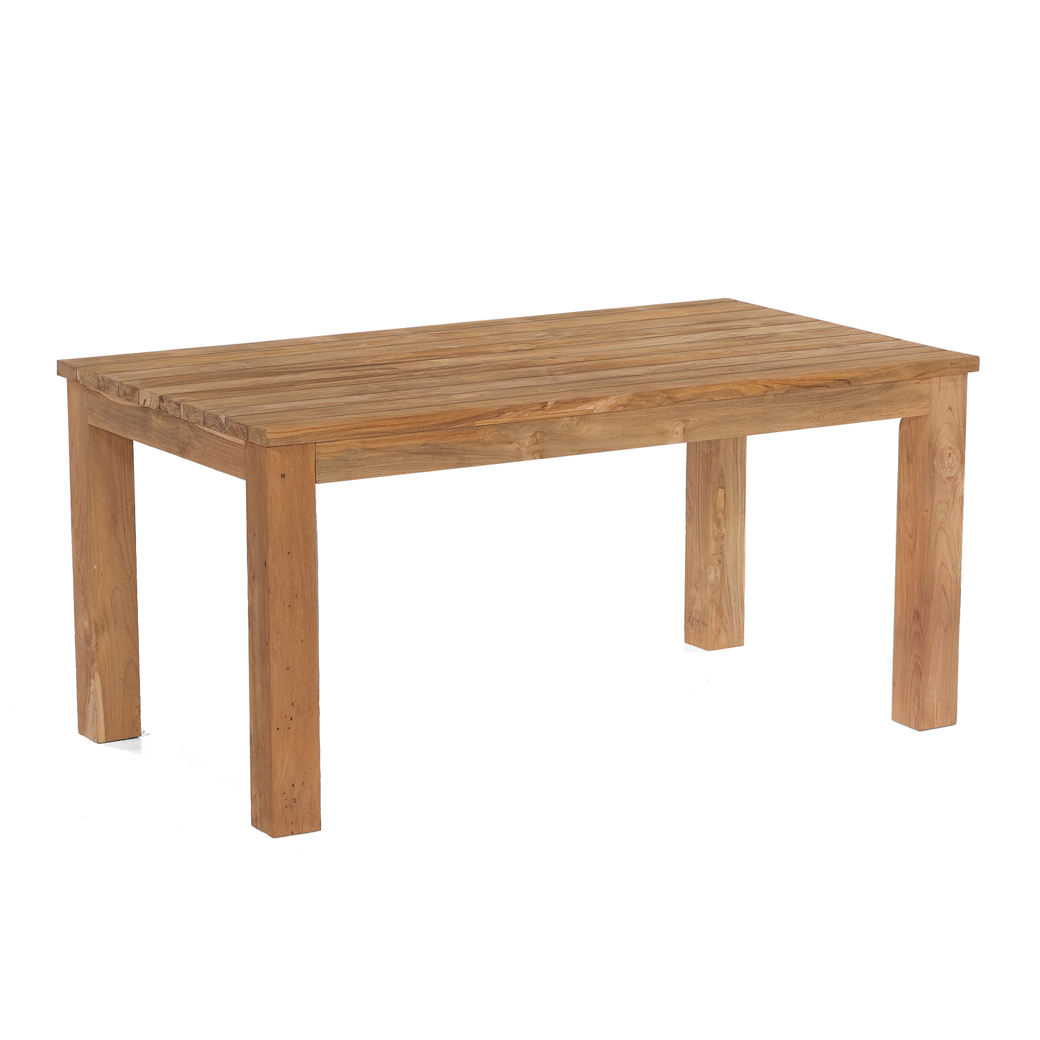 "SonnenPartner Tisch ""Charleston"" Old-Teak-Natur"