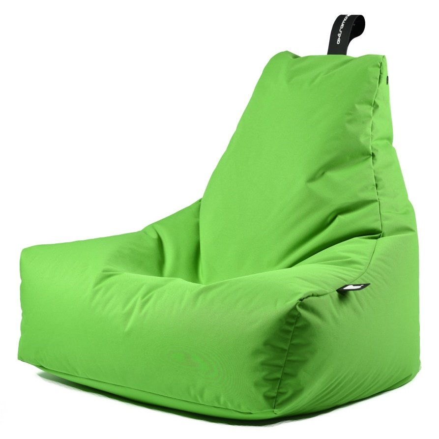 b-bag extreme lounging Sitzsack mighty-b Lime In & Outdoor