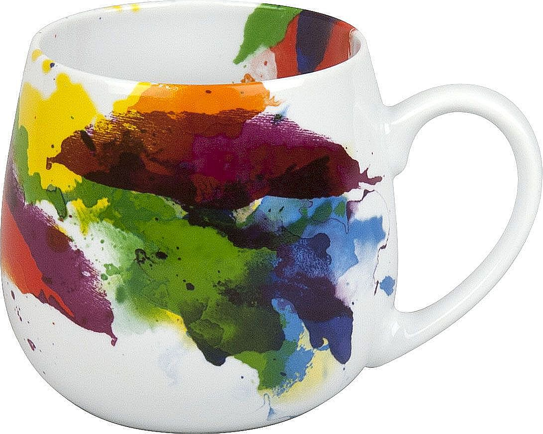 Könitz Tasse Farbkleckse ON COLOUR FLOW
