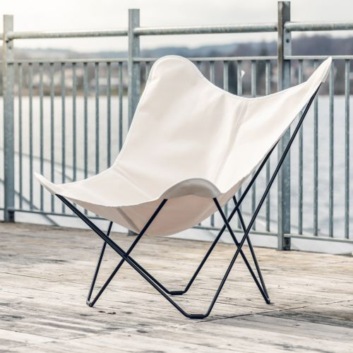 CUERODESIGN Outdoorsessel Sunshine Mariposa Natural Plus