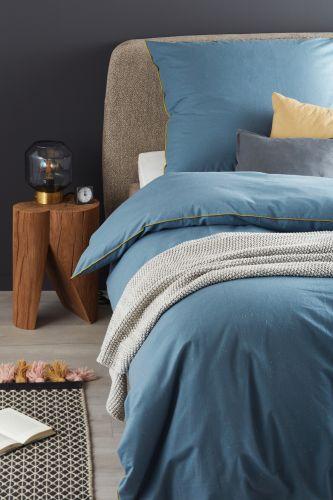 Schöner Wohnen Bettwäsche Slub B Blau Kiwi Romodo