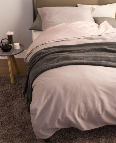 Schöner Wohnen Pure Rose Schlamm Bettwäsche