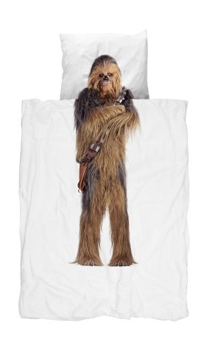 snurk star wars chewbacca bettw sche set 135x200 cm. Black Bedroom Furniture Sets. Home Design Ideas