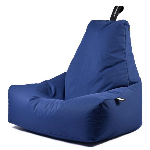 b-bag extreme lounging Sitzsack mighty-b Royal Blue In & Outdoor