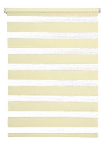 erfal doppelrollo klemmfix tageslicht uni h he 160 cm breite 100 cm beige romodo. Black Bedroom Furniture Sets. Home Design Ideas